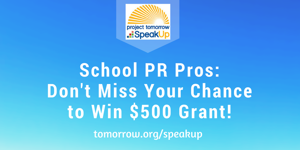 School Communications Officer Chance to Win $500